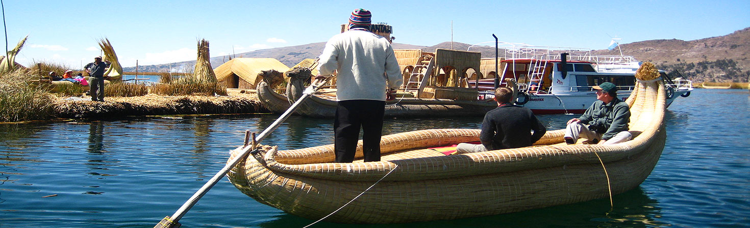 EXPLORING THE TITICACA LAKE