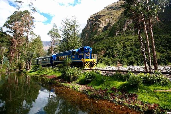 Exploring Machu Picchu